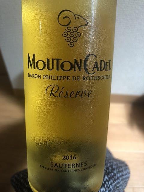 Mouton Cadet Réserve Sauternes