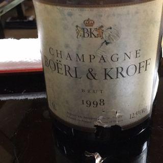 Boërl & Kroff Vintage Brut(ボエル・エ・クロフ ヴィンテージ ブリュット)