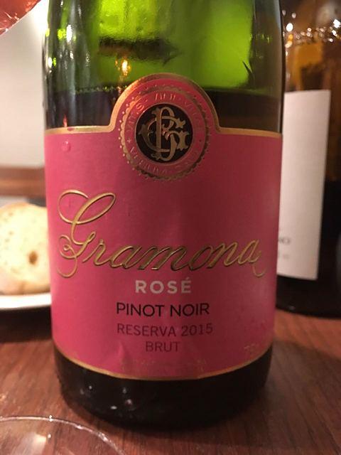Gramona Pinot Noir Rosé Brut Reserva(グラモナ ピノ・ノワール ロゼ ブリュット レゼルヴァ)