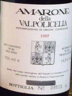 La Colombaia Amarone della Valpolicella Classico