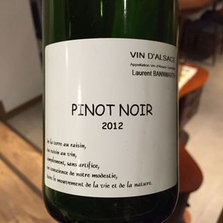 Laurent Bannwarth Pinot Noir