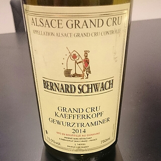 Bernard Schwach Gewürztraminer Grand Cru Kaefferkopf