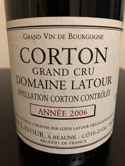 Dom. Latour Corton Grand Cru