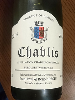Jean Paul & Benoit Droin Chablis
