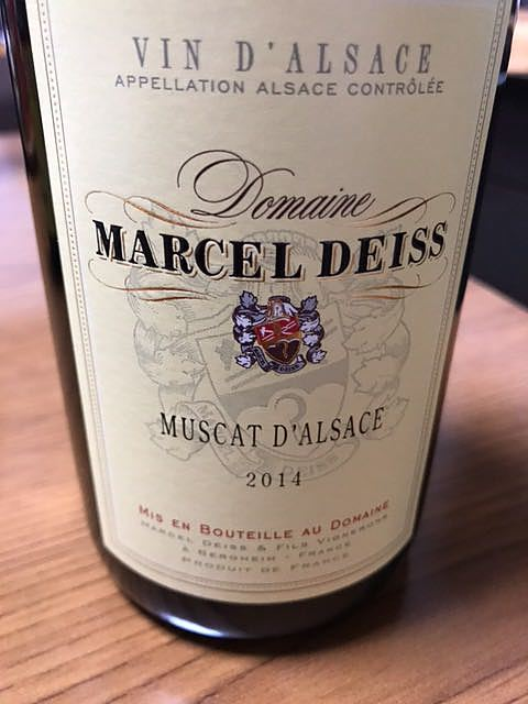 Marcel Deiss Muscat d'Alsace