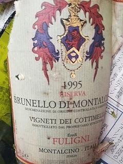 Fuligni Brunello di Montalcino Vigneti dei Cottimelli Riserva