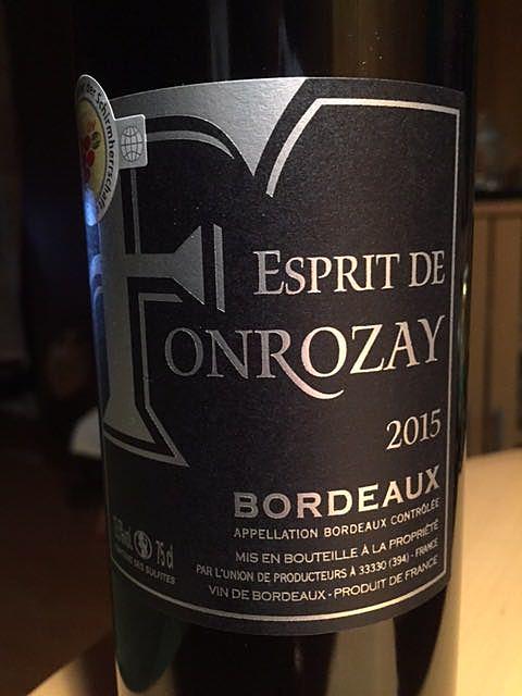 Esprit de Fonrozay Bordeaux