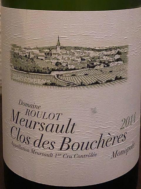 Dom. Roulot Meursault Clos des Bouchères 1er Cru Monopole