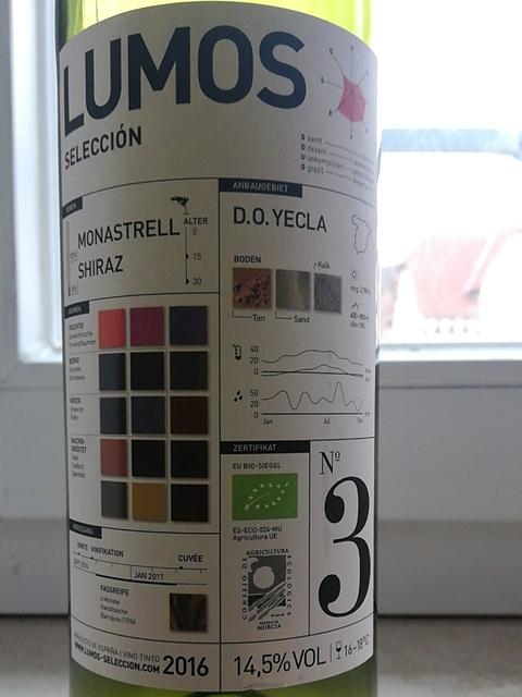 Lumos Selección No. 3 Tinto