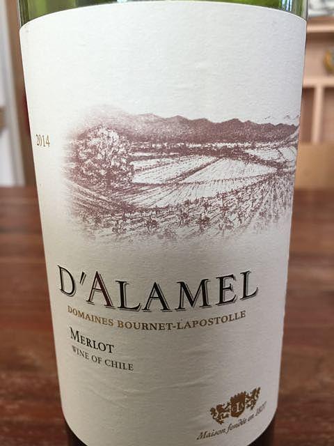 D'Alamel Merlot