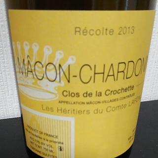 Les Héritiers du Comte Lafon Mâcon Chardonnay Clos de la Crochette