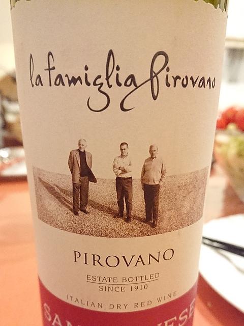 La Famiglia Pirovano Sangiovese Romagna