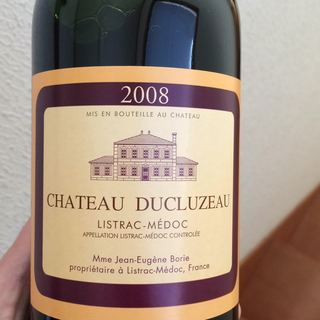 Ch. Ducluzeau(シャトー・デュクリュゾー)