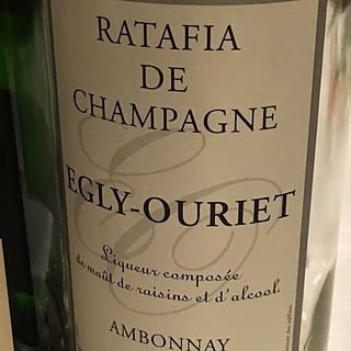 Egly Ouriet Ratafia de Champagne