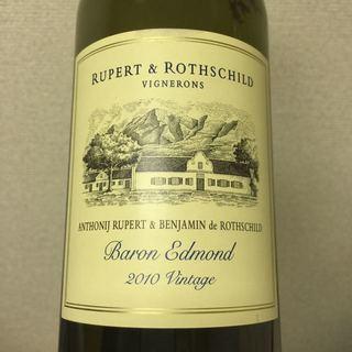 Rupert & Rothschild Baron Edmond 2010