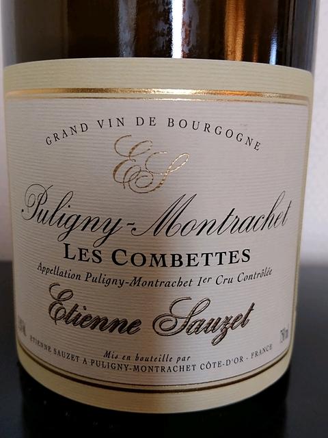 Etienne Sauzet Puligny Montrachet 1er Cru Les Combettes