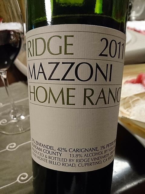 Ridge Mazzoni Home Ranch(リッジ マゾーニ ホーム・ランチ)