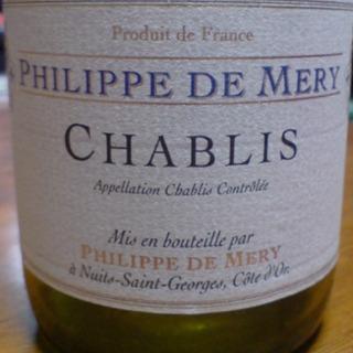 Philippe de Mery Chablis(フィリップ・ド・メリー シャブリ)