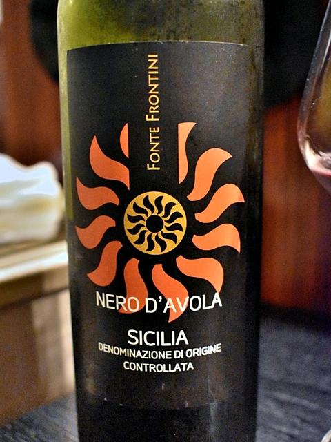 Fonte Frontini Nero d'Avola