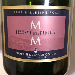 Marqués de la Concordia Reserva de la Familia Brut Rosé Millésime