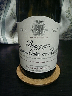 Emmanuel Rouget Bourgogne Hautes Côtes de Beaune Blanc
