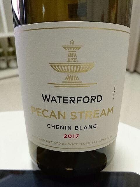 Waterford Pecan Stream Chenin Blanc(ウォーターフォード ペカン・ストリーム シュナン・ブラン)