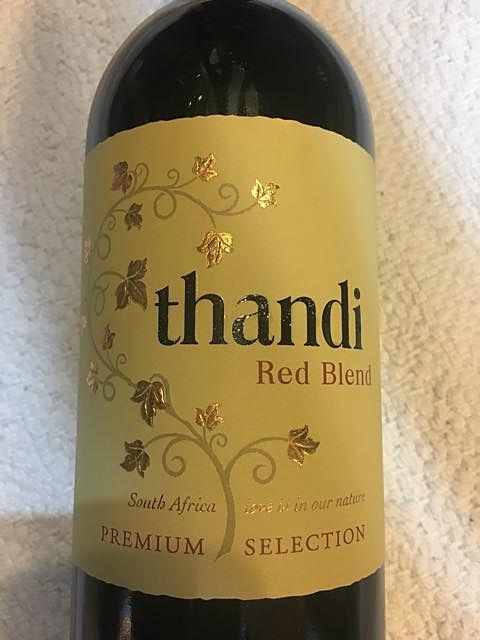 Thandi Red Blend(タンディ レッド・ブレンド)