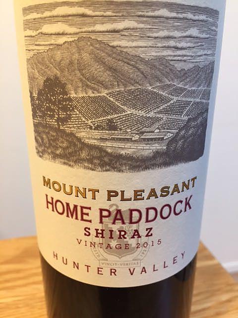Mount Pleasant Home Paddock Shiraz(マウント・プレザント ホーム・パドック シラーズ)