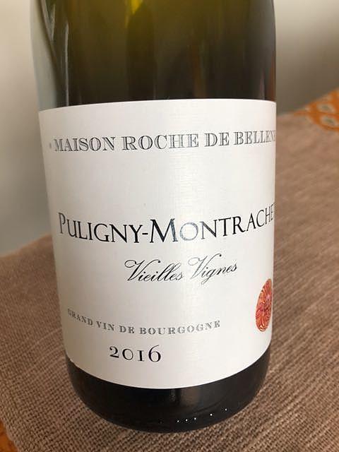 Maison Roche de Bellene Puligny Montrachet Vieilles Vignes(メゾン・ロッシュ・ド・ベレーヌ ピュリニー・モンラッシェ ヴィエイユ・ヴィーニュ)