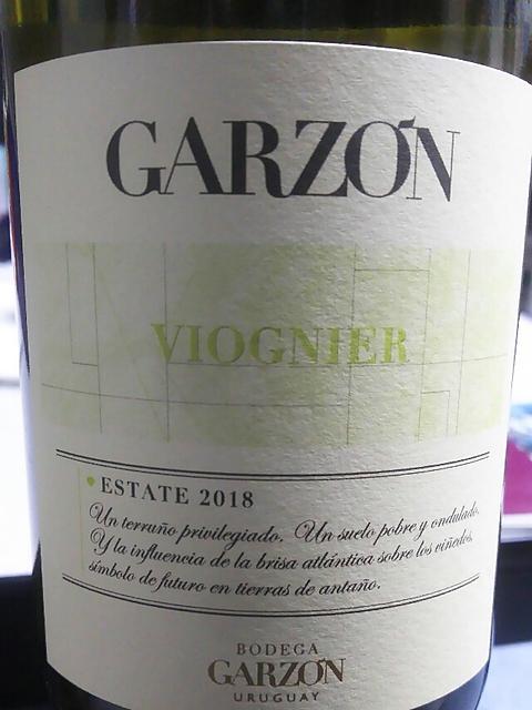 Garzón Estate Viognier(ガルソン エステート ヴィオニエ)