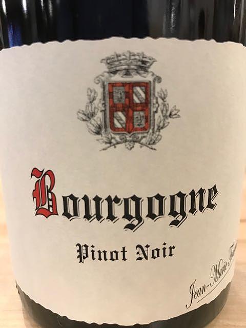Jean Marie Fourrier Bourgogne Pinot Noir(ジャン・マリー・フーリエ ブルゴーニュ ピノ・ノワール)