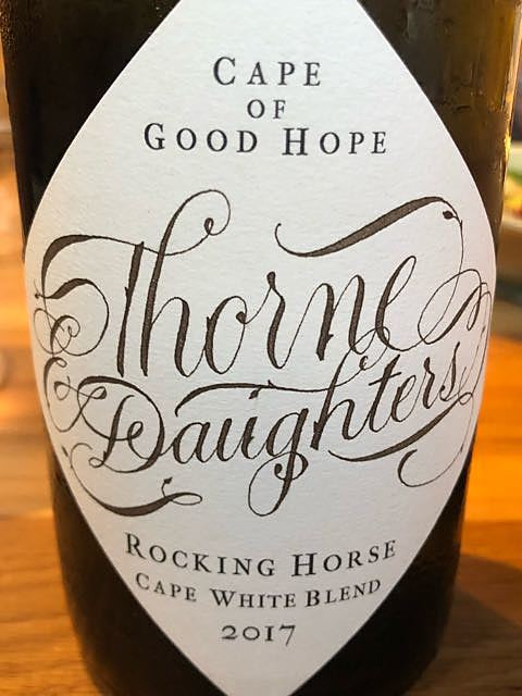 Thorne & Daughters Rocking Horse Cape White 2017