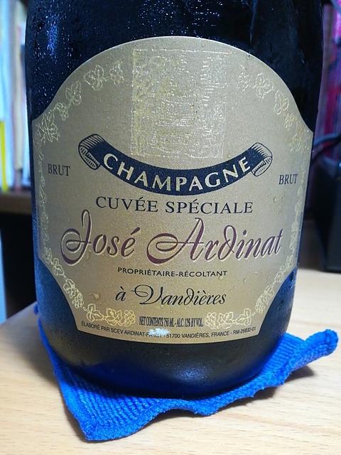 José Ardinat Cuvée Spéciale Brut(ホセ・アルディナ キュヴェ・スペシャル ブリュット)