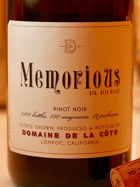 Dom. de la Côte la Côte Memorious(ドメーヌ・ド・ラ・コート ラ・コート メモリアス)