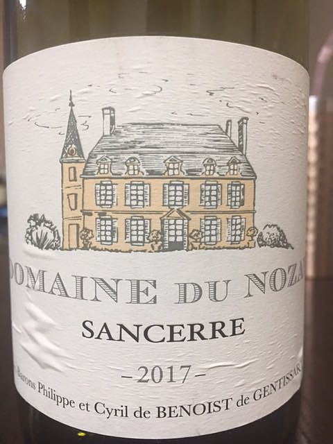 Dom. du Nozay Sancerre Blanc(ドメーヌ・デュ・ノゼ サンセール ブラン)