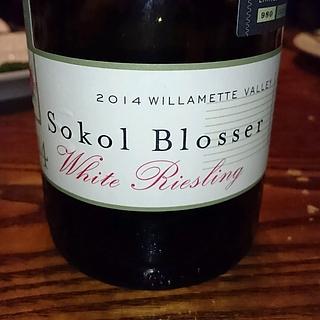 Sokol Blosser Willamette Valley White Riesling