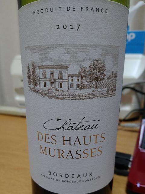 Ch. des Hauts Murasses