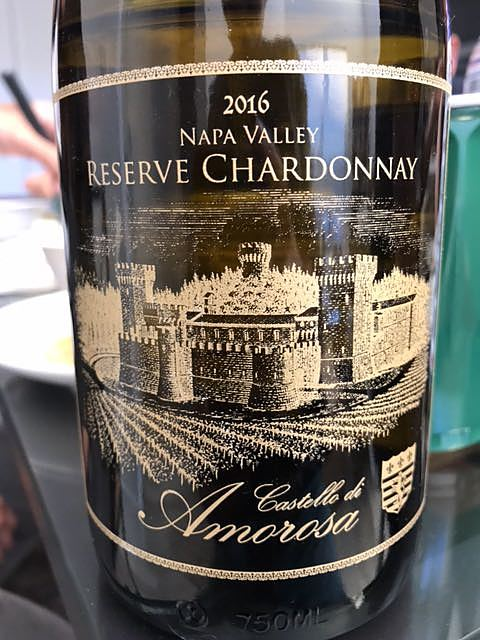 Castello di Amorosa Reserve Chardonnay(カステッロ・ディ・アモローサ リザーヴ シャルドネ)