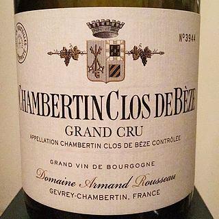 Dom. Armand Rousseau Chambertin Clos de Bèze Grand Cru
