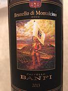 バンフィ ブルネッロ・ディ・モンタルチーノ