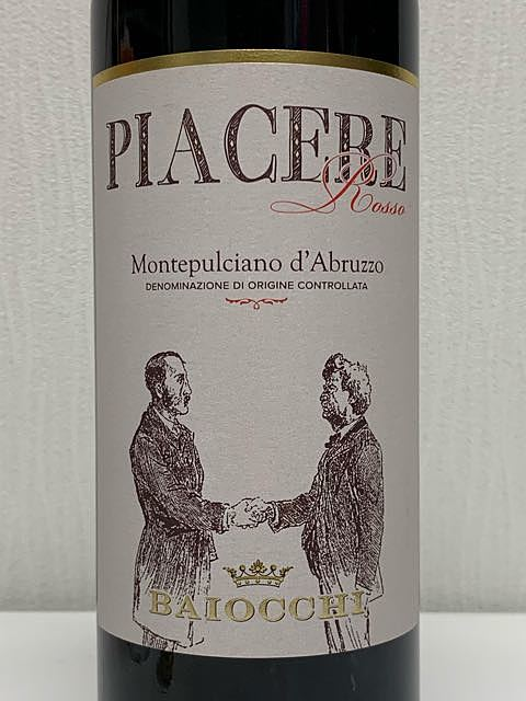 Baiocchi Piacere Rosso Montepulciano d'Abruzzo