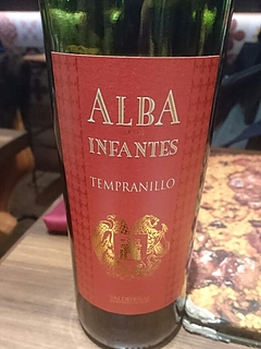 Alba de Los Infantes Tempranillo(アルバ・デ・ロス・インファンテス テンプラニーリョ)