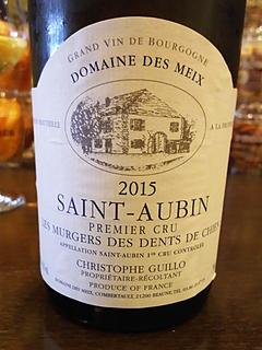 Dom. des Meix Saint Aubin 1er Cru Les Murgers des Dents de Chien Blanc(ドメーヌ・デ・ミヨ サン・トーバン プルミエ・クリュ レ・ミュルジェ・デ・ダン・ド・シャン ブラン)