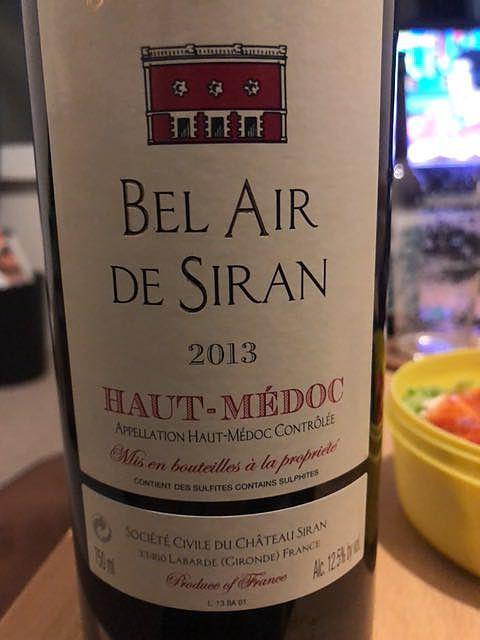 Ch. Bel Air de Siran
