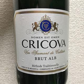 Cricova Brut alb(クリコバ ブリュット アルブ)
