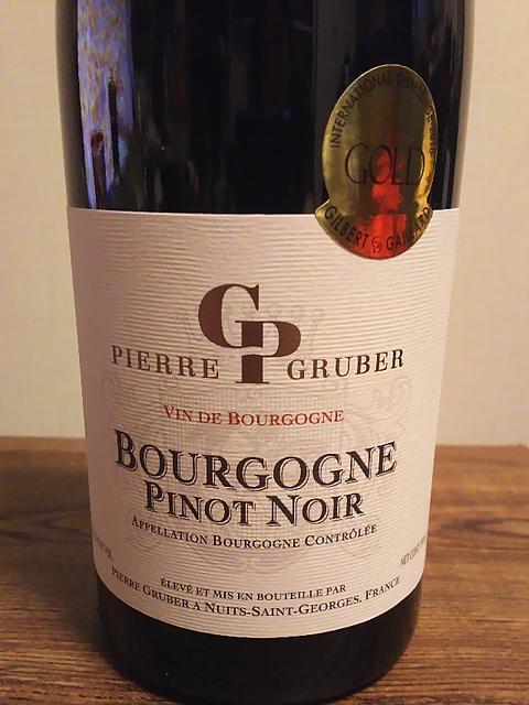 Pierre Gruber Bourgogne Pinot Noir(ピエール・グルーバー ブルゴーニュ ピノ・ノワール)