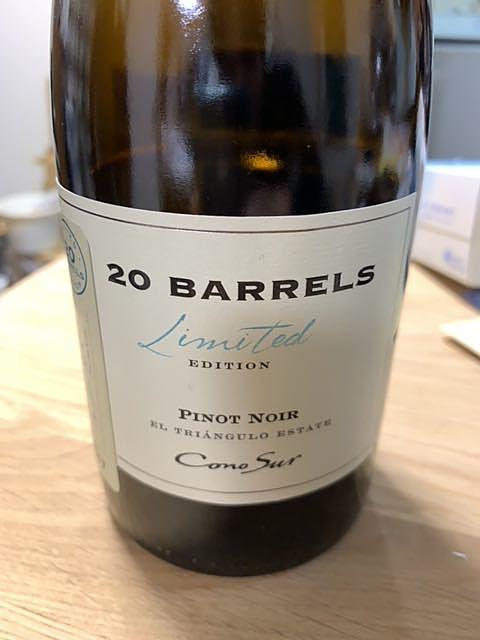 Cono Sur 20 Barrels Pinot Noir Limited Edition(コノ・スル 20・バレル ピノ・ノワール リミテッド・エディション)