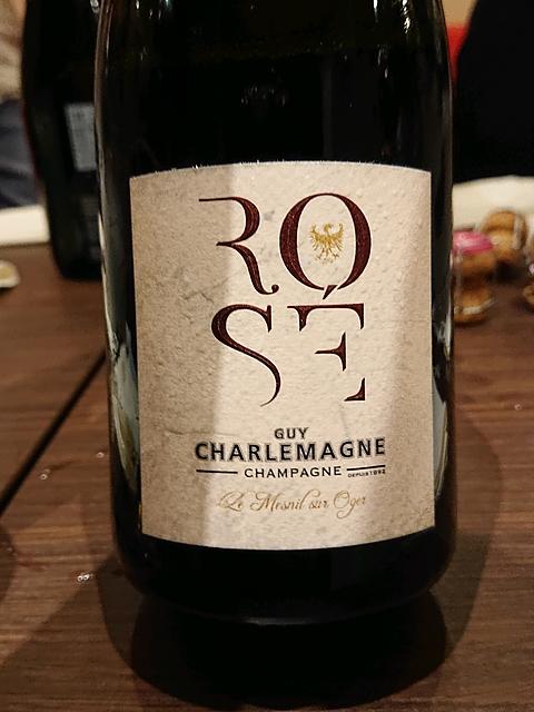 Guy Charlemagne Brut Rosé