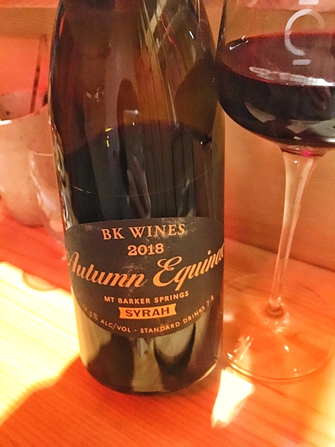 BK Wines Autumn Equinox