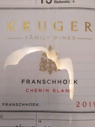 クルーガー・ファミリー・ワインズ フランシュフック シュナン・ブラン